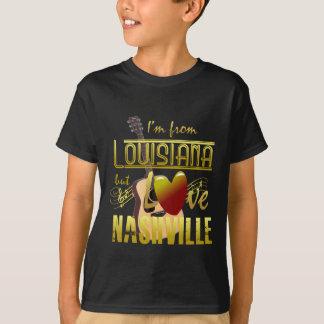 Louisiana Loves Nashville Kids' T-Shrit T-Shirt