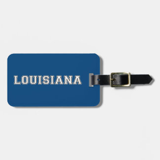 Louisiana Luggage Tag