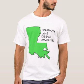 Louisiana Lyme Disease Awareness T-Shirt