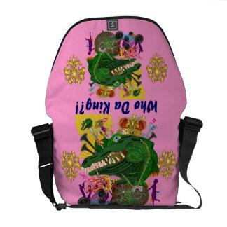 Louisiana Mardi Gras Party Best view lg 30 Color Messenger Bags
