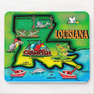 Louisiana Mouse Pads