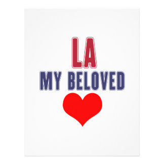 Louisiana my beloved customized letterhead