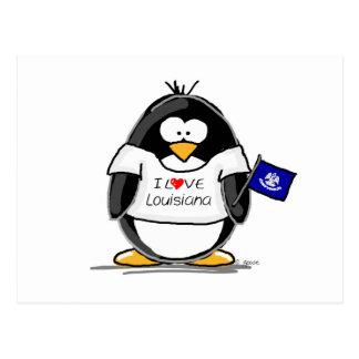 Louisiana Penguin Postcard