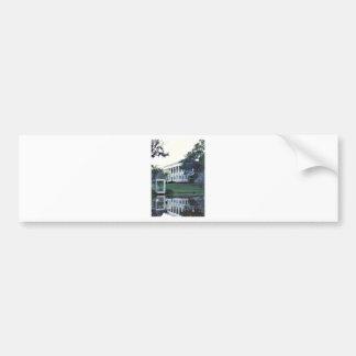 Louisiana Plantation Bumper Sticker