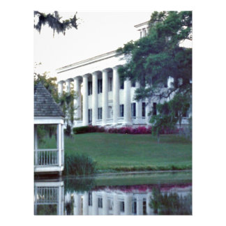 Louisiana Plantation Letterhead