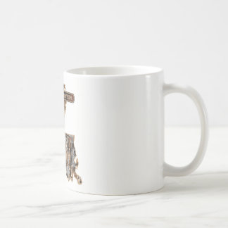 LOUISIANA RIG UP CAMO COFFEE MUG