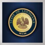 Louisiana Seal Posters