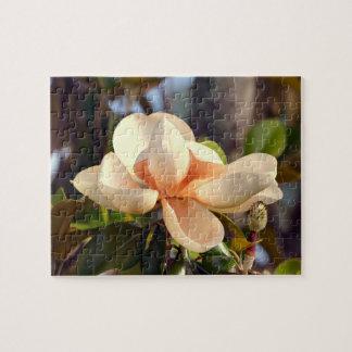 Louisiana Southern Magnolia Jigsaw Puzzle