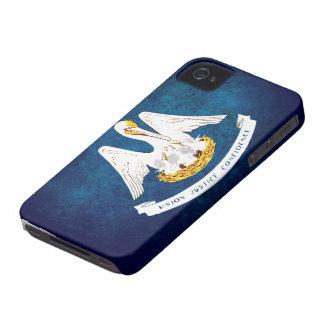 Louisiana state flag iPhone 4 case