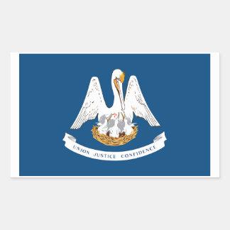 Louisiana State Flag Sticker - 4 per sheet