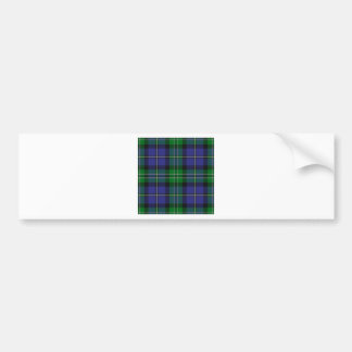 Louisiana_state_tartan Bumper Sticker