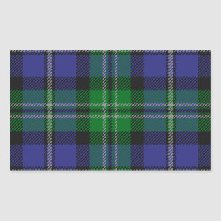 Louisiana_state_tartan Sticker