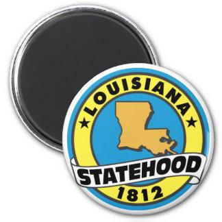 Louisiana Statehood Magnet