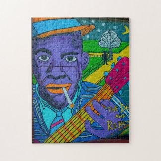 Louisiana Street Art. Jigsaw Puzzle