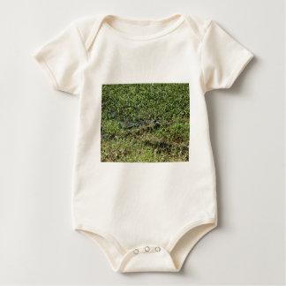 Louisiana Swamp Alligator in Jean Lafitte Baby Bodysuit
