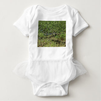 Louisiana Swamp Alligator in Jean Lafitte Baby Bodysuit