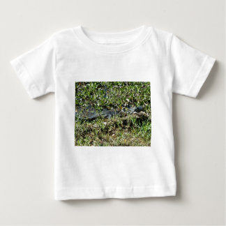 Louisiana Swamp Alligator in Jean Lafitte Close Up Baby T-Shirt