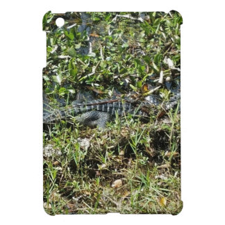 Louisiana Swamp Alligator in Jean Lafitte Close Up iPad Mini Cover