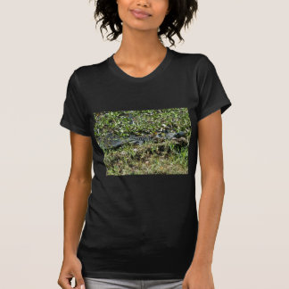 Louisiana Swamp Alligator in Jean Lafitte Close Up T-Shirt