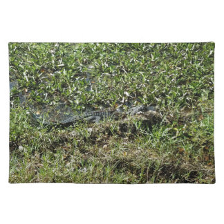 Louisiana Swamp Alligator in Jean Lafitte Placemat