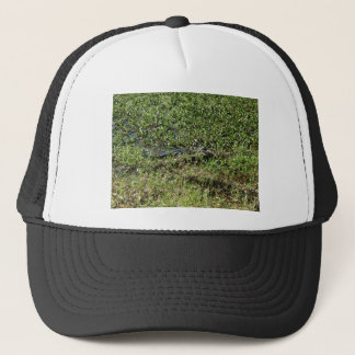 Louisiana Swamp Alligator in Jean Lafitte Trucker Hat