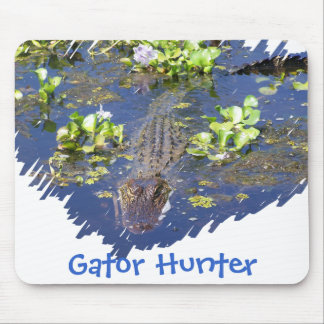 Louisiana Swamp Gator Hunter Mousepad