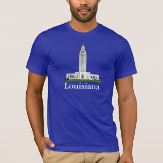 LOUISIANA T-shirt from the J.X.G U.S.A.collection