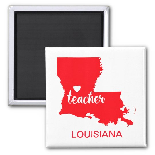 Louisiana Teacher Magnet