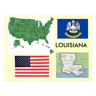Louisiana, USA Postcard