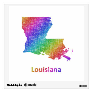Louisiana Wall Decal