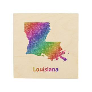 Louisiana Wood Canvas