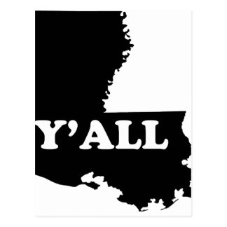 Louisiana Yall Postcard