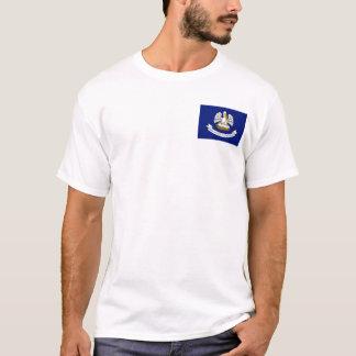 Louisianan Flag + Map T-Shirt