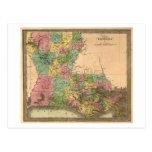 LouisianaPanoramic MapLouisiana Postcards