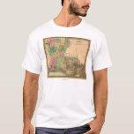 LouisianaPanoramic MapLouisiana T-Shirt
