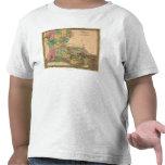 LouisianaPanoramic MapLouisiana Tee Shirts