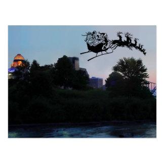 Louisville Christmas Postcard