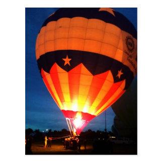 Louisville Derby Festival Balloon Glow Postcard