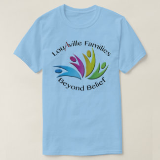 Louisville Families Beyond Belief -- Blue Men's T-Shirt