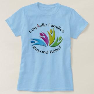 Louisville Families Beyond Belief -- Blue Women's T-Shirt