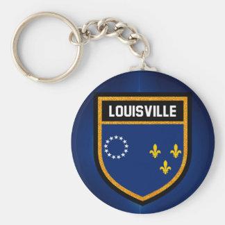 Louisville Flag Keychain