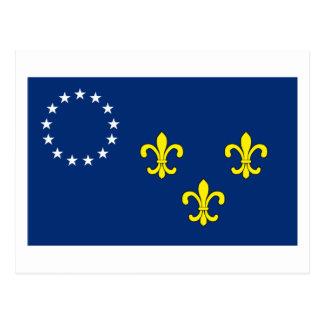 Louisville Flag Postcard