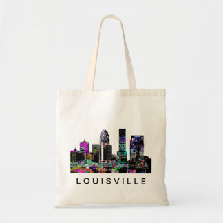 Louisville in graffiti tote bag