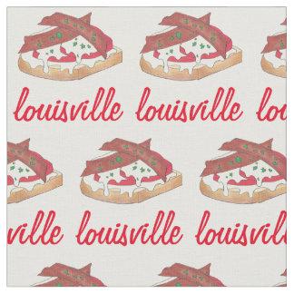 Louisville Kentucky Hot Brown Openface Sandwich KY Fabric