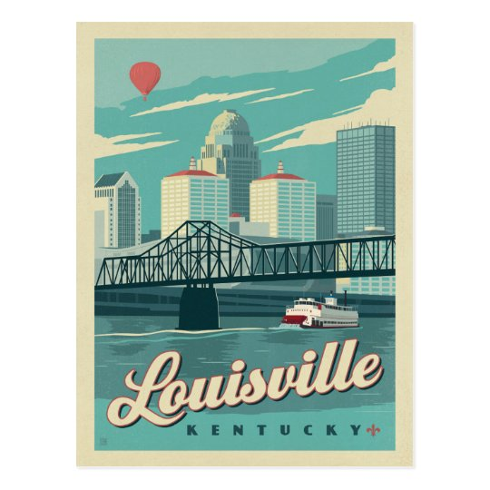 Louisville, Kentucky Postcard