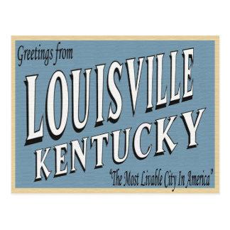 Louisville Kentucky Postcard