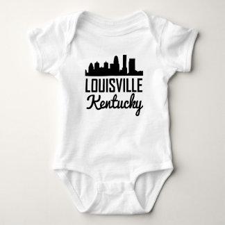 Louisville Kentucky Skyline Baby Bodysuit
