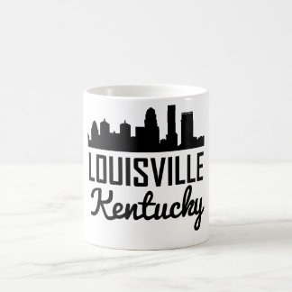 Louisville Kentucky Skyline Coffee Mug