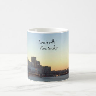 Louisville, Kentucky Skyline Collector Mug