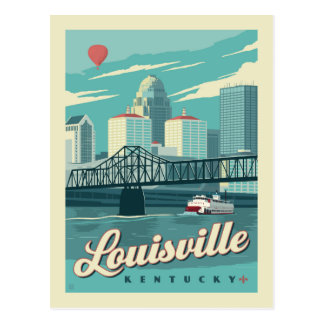 Louisville, Kenucky | Save the Date Postcard